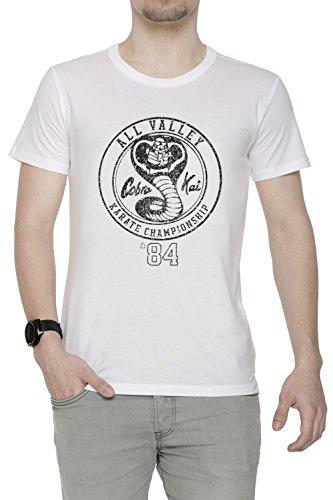 41eFE4Pxx L - Camiseta Cuello Redondo Blanco Manga Corta Todos Los Tamaños