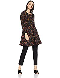 BIBA Women's Straight Cotton Kurta