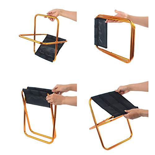 Zoom IMG-3 taozyy sgabello pieghevole portatile grande