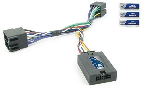 NIQ Lenkradfernbedienungsadapter geeignet für PIONEER Autoradios, kompatibel mit Peugeot 206 / 307 / 406 / 607 / 807 / Partner