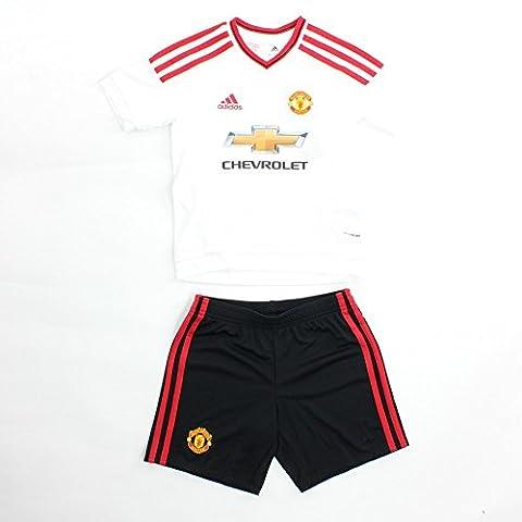 Adidas Survêtement pour enfant Manchester United Extérieur équipement 6 ans Blanc - White/Reared