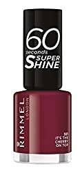 Its the Cherry on Top : Rimmel 60 Seconds Super Shine Nail Polish - 8 ml, Its the Cherry on Top