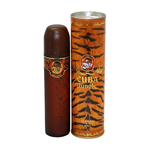 Cuba Cuba Jungle Tiger Eau De Parfum Spray - 100 ml (Damen Rabatt Duft Frau)