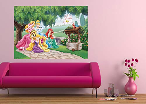 Principesse & Animals Disney Decorazione Murales 160X115Cm