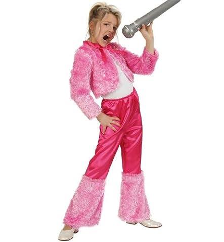 Gurimo-Tex 110568 - Anzug Dolly Kostüm, 152 (70er Jahre Disco-kostüme Für Kinder)