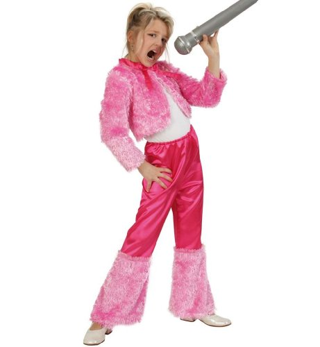 Gurimo-Tex 110568 - Anzug Dolly Kostüm, 152 (70er Jahre Outfits Für Kinder)