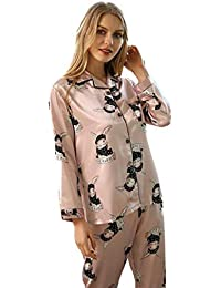 LYLYSS El Sistema Atractivo De Los Pijamas, Señoras Pijama, Juego De Dos Piezas De