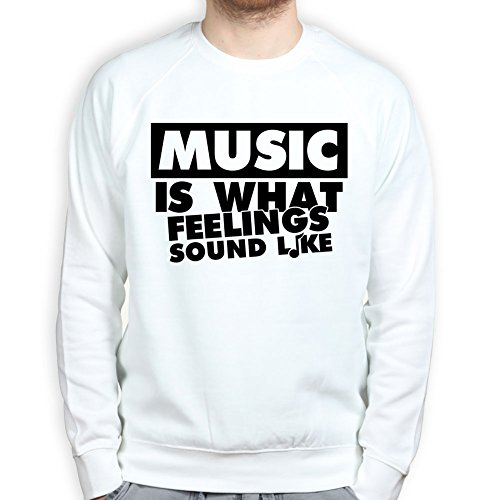 Music is What Feelings Sound Like Pullover