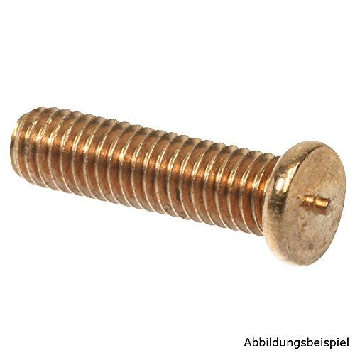 Preisvergleich Produktbild SCAPP Stahl (St 37 verk.) Schweißbolzen / M3 - M8 und 6 - 60mm Länge auswählbar / DIN EN ISO 13918 für Spitzenzündung Typ PT / VE = 100 Stück / M5 x 25