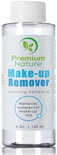 Premium Nature Make-Up-Entferner Gesichtsreiniger - Alle Natürliche Sanfte Waschanlagen Für Augen, Lippen & Wasserfeste Wimperntusche - Befeuchten Hydrat Reinigen & Hautöle 4 Unzen