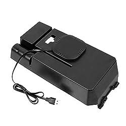 CUHAWUDBA Auto Qi Drahtlos Handy Lade Station Aufbewahrungs Box Für Mercedes- C-Class W205 C200 C300 Glc