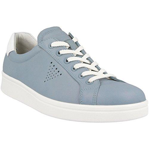 Ecco Damen Soft 4 Sneaker Blau (Arona/White)
