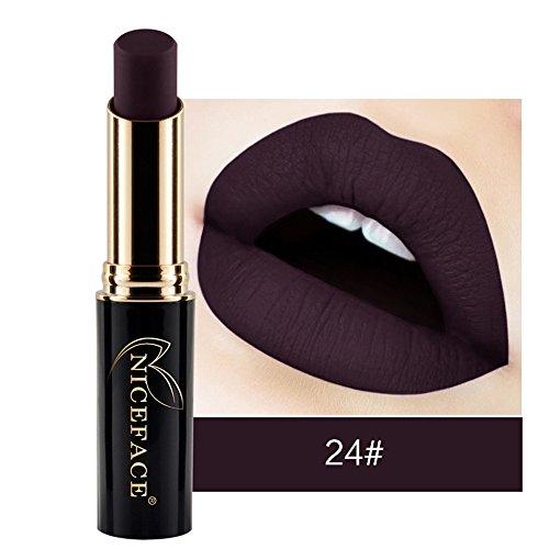 Rouge à Lèvres,Brillant À Lèvres Mat,Lipsticks Hydratant Liquide Maquillage 12 Nuances Bringbring