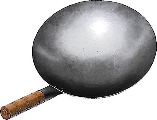 JADE TEMPLE 17056 Wok, Eisenpfanne,grau 14.5 x 51 x 30.5 cm Hand Hammered Wok