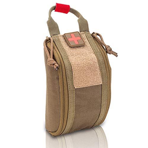 Elite Bags - CompactŽS, Botiquín Compacto con Sistema Molle (Marrón