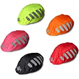 BTR Helmet Cover, Waterproof & High Visibility Bike Helmet Cover. Reflective and High Viz.