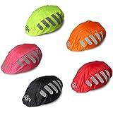 Giallo Copri-casco impermeabile per bicicletta/bici da corsa