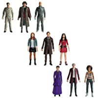 "Amazing Trends Excellent Present Doctor Who 5.5"" Figures 11th / 12th / 1970s Doctor Set Children Fun Play"