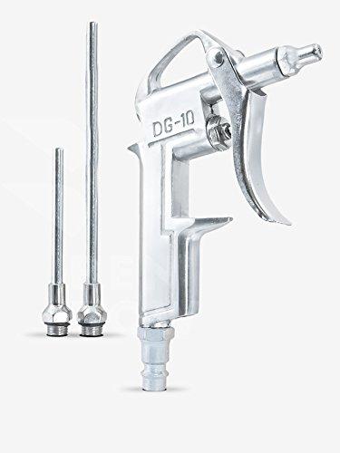 Benbow Druckluft Ausblaspistole+ Langer Düse Druckluftpistole Ausblaspistole Druckluft Reinigungspistole mit Kurzer passend für Kompressoren