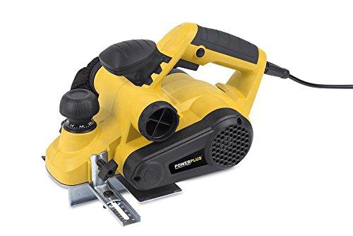 Elektrohobel POWX1110 Hobel Einhandhobel Handhobel im Koffer 900 Watt - POWX1110