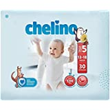Chelino Fashion & Love, Talla 5, Pack de 6x30 (180 pañales)