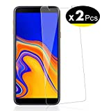 NEW'C Pellicola Protettiva in Vetro Temperato per Samsung Galaxy J4 Plus / J4+ (SM-J415F) - Pacco da 2 Pezzi