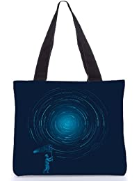 Snoogg Tote Bag 13.5 X 15 Inches Shopping Utility Tote Bag Made From Polyester Canvas - B01GCIMI12