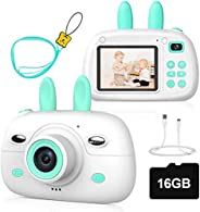 Children's Fun Camera Bunny Ears Mini SLR Digital Camera Toy 18 Million Double Cam