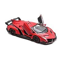Serie di auto: auto sportivaNome del modello: Lamborghini VenenoTipo di giocattolo: giocattolo di metalloTipo di modello: prodotto finitoMateriale del prodotto: metallo, plastica di alta qualitàClassificazione dei colori: grigio, rosso, gialloEtà app...