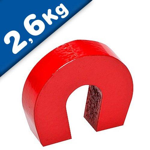Iman de herradura AlNiCo rojo 28