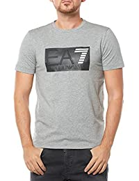 Emporio Armani EA7 t-shirt manches courtes ras du cou homme blanc