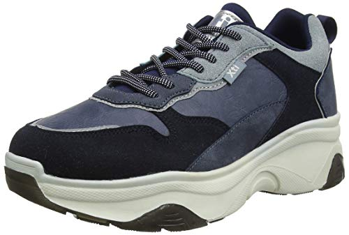 XTI 49277, Zapatillas para Mujer, Azul Navy Navy, 37 EU