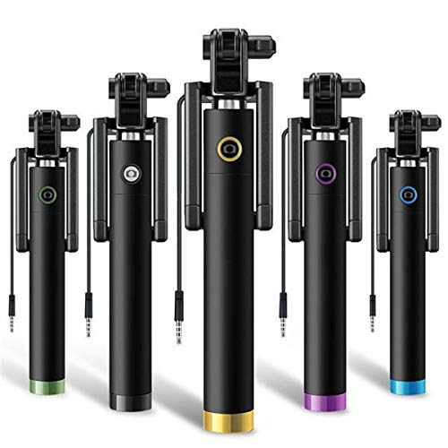 Shot Case Asta Selfie per Motorola Moto E4Plus Nero