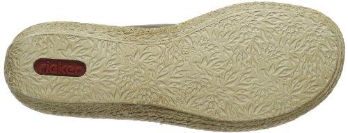 Rieker  65886 Damen Clogs & Pantoletten Gold (titan/platin/silver 90)
