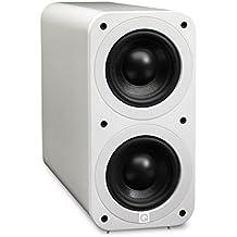 Q Acoustics 3070S - Subwoofer (140W, 50 - 150 Hz, 17 cm, Color blanco, 20 cm, 42,5 cm)