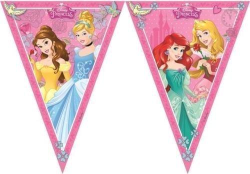 Procos Disney Princess Dreaming Plastik Flagge Banner Girlande (Disney Princess-banner)