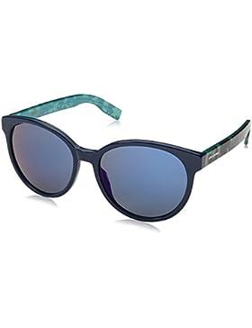 Boss Orange Unisex-Erwachsene Sonnenbrille 0195/S 23 Schwarz (Blue Hvnaqua 2ph), 55
