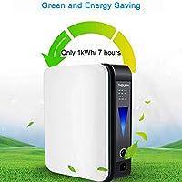 WFWPY Generador concentrador de oxígeno portátil 1-6L / Min Ajustable 90% máquina de oxígeno de pureza purificador de Aire para Auto Coche hogar Viaje
