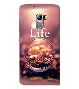 PrintDhaba Quote D-2338 Back Case Cover for LENOVO VIBE K4 NOTE (Multi-Coloured)