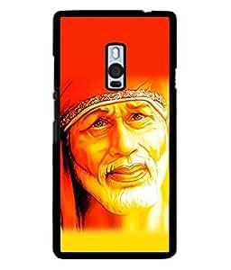 PrintVisa Shri Sai Satcharita High Gloss Designer Back Case Cover for OnePlus 2 :: OnePlus Two :: One Plus 2