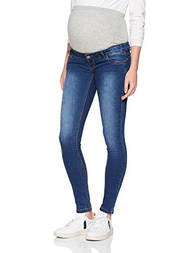 MAMALICIOUS Damen MLLOLA Slim Jeans NOOS B. Umstandshose, Blau (Blue Denim), W33/L32 (Herstellergröße:33)