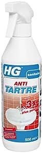 HG Spray Moussant Antitartre 3 Fois Plus Puissant 500 ml - Lot de 2