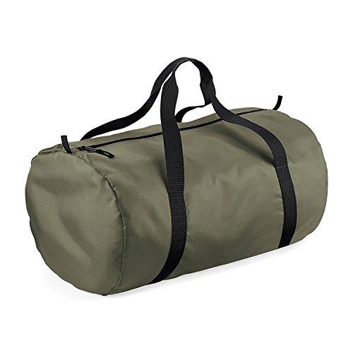 BagBase-Reisetasche-wasserabweisend-32-Liter-One-SizeOlive-GrnSchwarz
