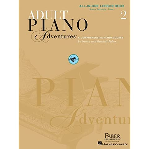 Faber Piano Adventures: Adult Piano Adventures All-In-One Lesson Book 2