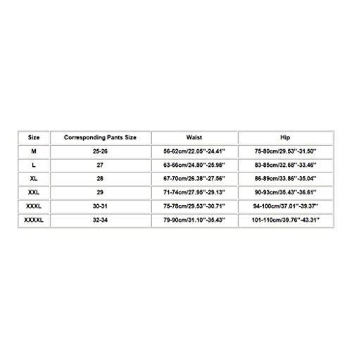 LOPILY Damen Figurformender Miederslip Butt Lifter Shapewear PO Push Up Enhancer Bauch Weg Taillenkorsett Unterwäsche Sculpting Kolbenhebe Höhe Taille Stark Formend Nahtlose Miederhose (Beige, 2XL) - 7
