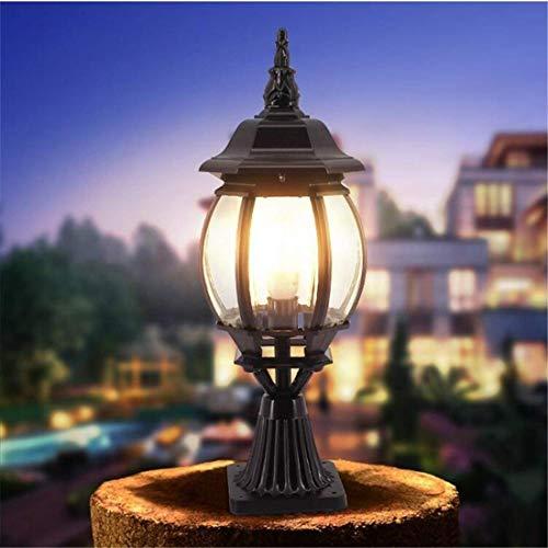 SGWH Wandleuchte Wasserdichte E27 Post Bronze Garten Community Square Spalte illa Garten Yard Tür Säule Lichter Kronleuchter Beleuchtung -