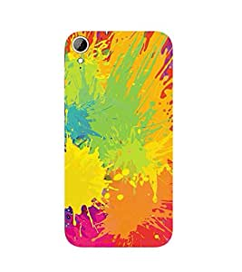 PrintVisa Designer Back Case Cover for HTC Desire 830 :: HTC Desire 830 Dual Sim (Abstract Pattern Of Holi)