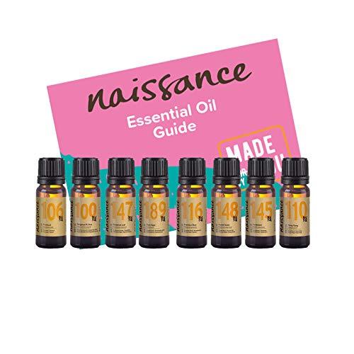 Naissance Set Aromaterapia Romántico y Sensual Top 8 Aceites Esencial