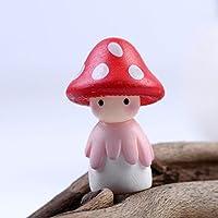 B & Y Mini Fungo Fata Giardino Colorato in miniatura funghi