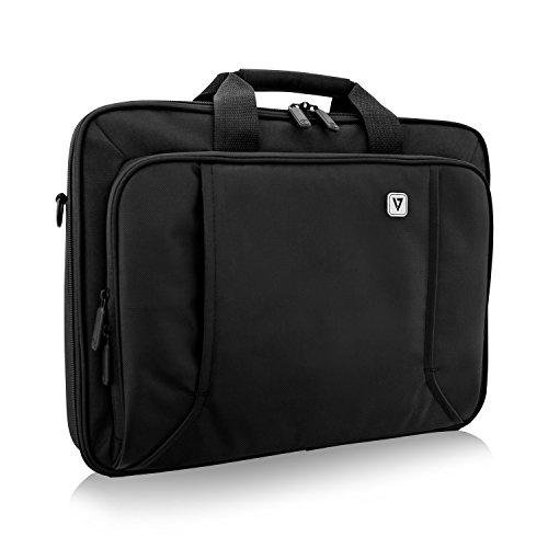 "V7 CCP17-BLK-9N 17\"" Professional Front Loading Laptop Case (RFID, Weather Resitant)"